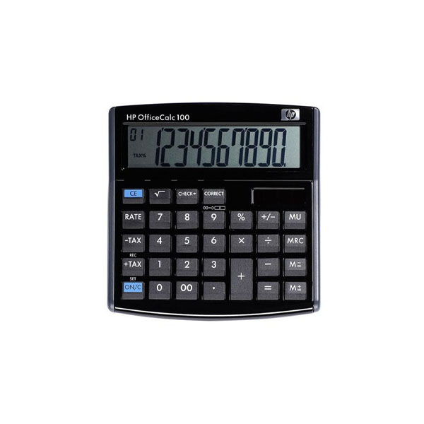 CALCULADORA DE ESCRITÓRIO HP OFFICE 100
