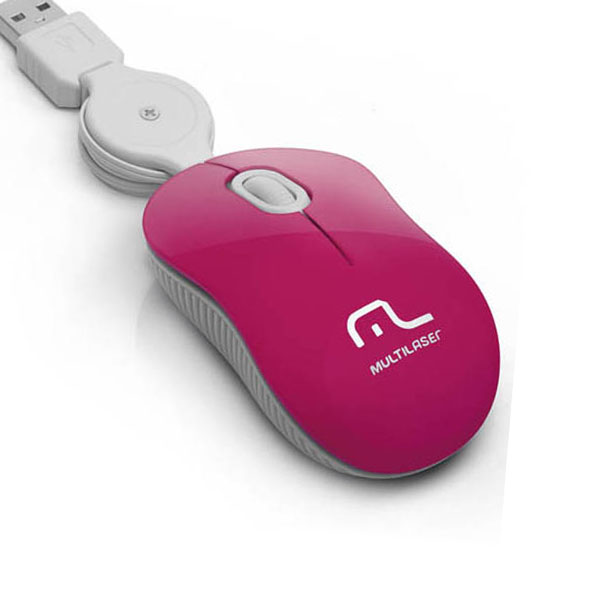 Mouse Multilaser Retratil Super Mini MO185